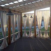 Для дома и интерьера ручной работы. Ярмарка Мастеров - ручная работа Шторы для веранды. Handmade.