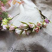 """Украшения ручной работы. Ярмарка Мастеров - ручная работа """"Елена"""" свадебный венок для фотосессии. Handmade."""