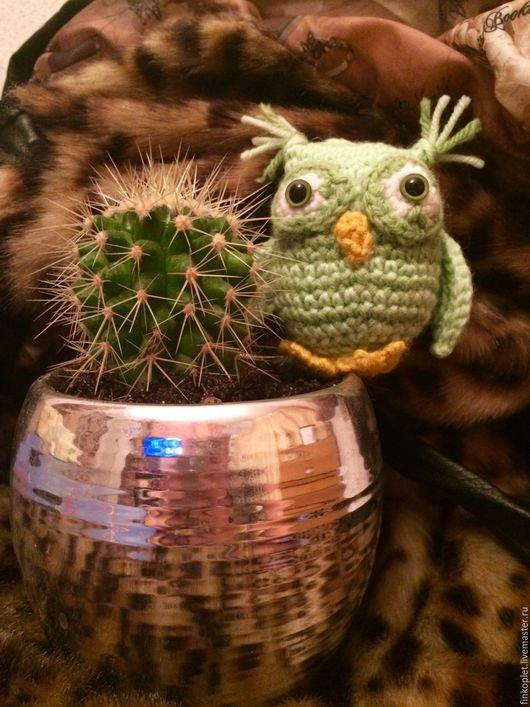 Игрушки животные, ручной работы. Ярмарка Мастеров - ручная работа. Купить Вязаные игрушки амигуруми(совы). Handmade. Комбинированный, амигуруми, сувениры