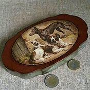 Для дома и интерьера ручной работы. Ярмарка Мастеров - ручная работа купюрница (год собаки). Handmade.