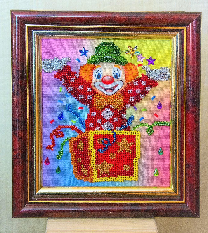 Clown, beading, Pictures, Kazan,  Фото №1