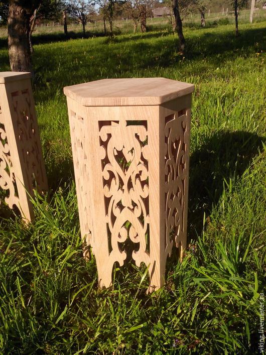 Мебель ручной работы. Ярмарка Мастеров - ручная работа. Купить Банкетка. Handmade. Табуретка, для дома, персидский стиль, натуральное дерево