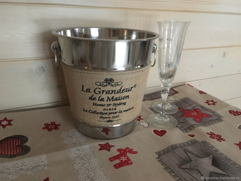 """Ведерко для шампанского """" Maison"""", Утварь, Голицыно,  Фото №1"""