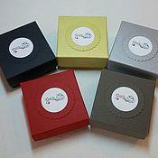 Сувениры и подарки ручной работы. Ярмарка Мастеров - ручная работа Коробочка, различные размеры, с логотипом.. Handmade.