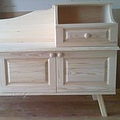 Для дома и интерьера ручной работы. Ярмарка Мастеров - ручная работа Тумбочка в прихожую. Handmade.