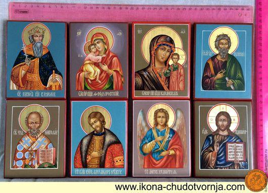 Подносные иконы святых Размер: 10 х 13 Живописные на золоте. Одна фигура 4 000 руб. Две фигуры 5 000 руб.