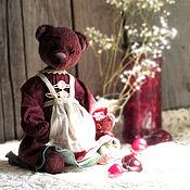 Куклы и игрушки handmade. Livemaster - original item Grandma`s jam. Cherry. Handmade.