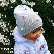 """Работы для детей, ручной работы. Ярмарка Мастеров - ручная работа """"Цветные пузырьки!)))""""- шапочка для Оксаны. Handmade."""