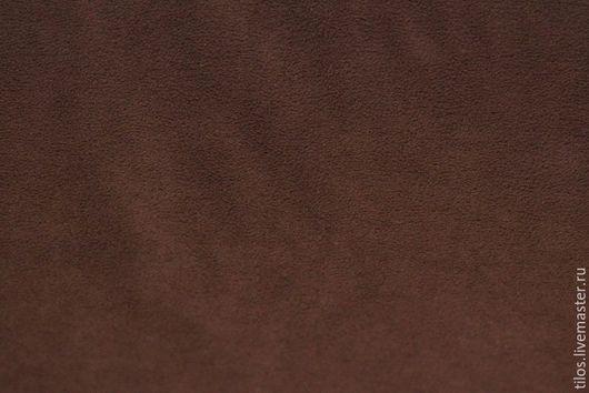 Шитье ручной работы. Ярмарка Мастеров - ручная работа. Купить Флис коричневый. Handmade. Ткань, ткань для рукоделия, ткань для шитья