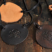 Субкультуры ручной работы. Ярмарка Мастеров - ручная работа Пиратский наглазник. Handmade.
