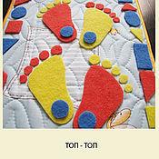 Куклы и игрушки ручной работы. Ярмарка Мастеров - ручная работа Модули для массажной дорожки. Handmade.