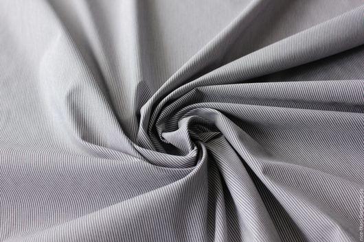 """Шитье ручной работы. Ярмарка Мастеров - ручная работа. Купить СКИДКА! 28601 """"морская"""" легкая костюмная ткань. Handmade. Комбинированный"""