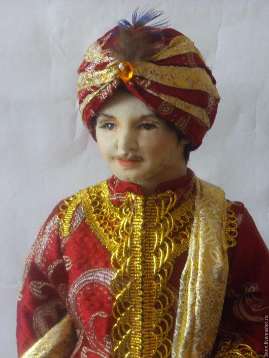 Коллекционные куклы ручной работы. Ярмарка Мастеров - ручная работа. Купить кукла в индийском костюме. Handmade. Комбинированный, подарок на праздник