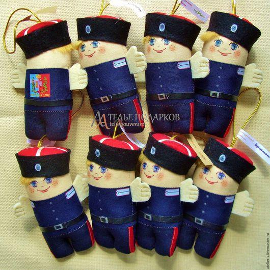 """Народные куклы ручной работы. Ярмарка Мастеров - ручная работа. Купить Саше """"Казак"""" (разные ароматы). Handmade. Тёмно-синий"""