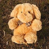 Куклы и игрушки ручной работы. Ярмарка Мастеров - ручная работа Плюшевый пес (восстановленный). Handmade.