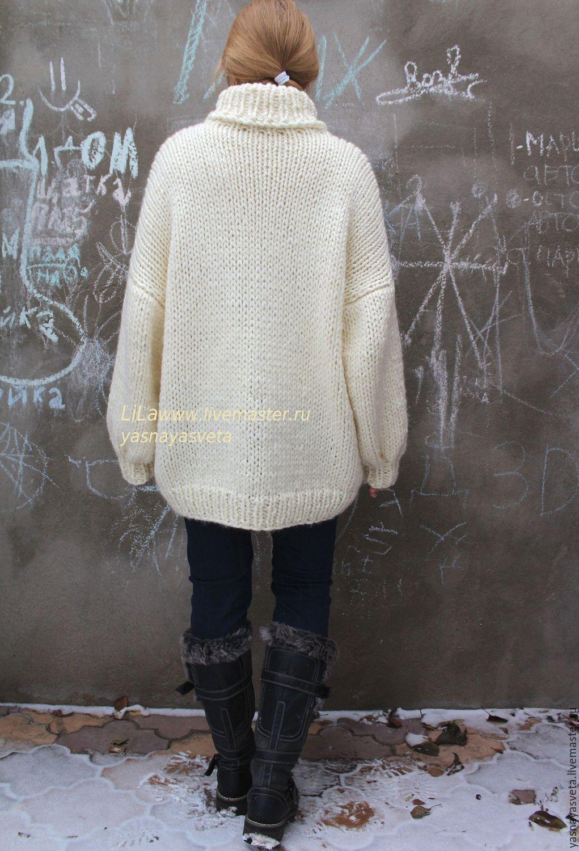 Вязаный свитер женский с доставкой