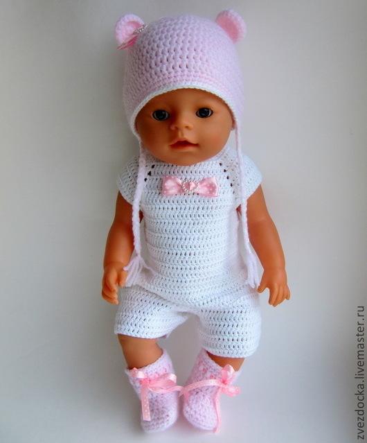 Куклы и игрушки ручной работы. Ярмарка Мастеров - ручная работа. Купить сапожки для куклы. Handmade. Розовый, обувь для кукол, полиакрил