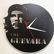 Для дома и интерьера ручной работы. Ярмарка Мастеров - ручная работа Часы Че Гевара. Handmade.