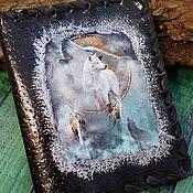 Сумки и аксессуары handmade. Livemaster - original item Leather cover passport