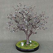 Цветы и флористика handmade. Livemaster - original item Tree of black pearls