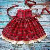 Платья ручной работы. Ярмарка Мастеров - ручная работа Сарафан для малышки (из семейного комплекта). Handmade.