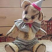 Куклы и игрушки ручной работы. Ярмарка Мастеров - ручная работа Чарли-цирковой медведь тедди. Handmade.