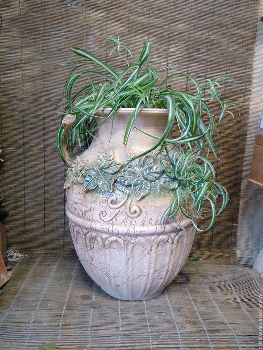 """Вазы ручной работы. Ярмарка Мастеров - ручная работа. Купить Напольная ваза """"Версаль"""". Handmade. Напольная ваза, ваза для цветов"""