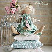 Куклы и игрушки ручной работы. Ярмарка Мастеров - ручная работа Принцесса на горошине Мята. Handmade.