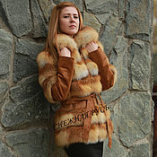 Fur Coats handmade. Livemaster - original item Fur coat Fox fur. Handmade.