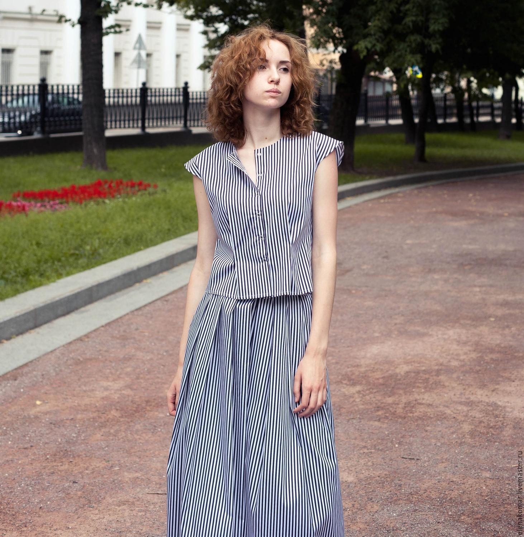 Выровнять длину юбки