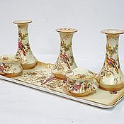 Винтаж handmade. Livemaster - original item Antique ladies table set Ivory. Handmade.