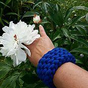 Украшения ручной работы. Ярмарка Мастеров - ручная работа Вязаный браслет, браслет на руку, вязаный аксессуар. Handmade.