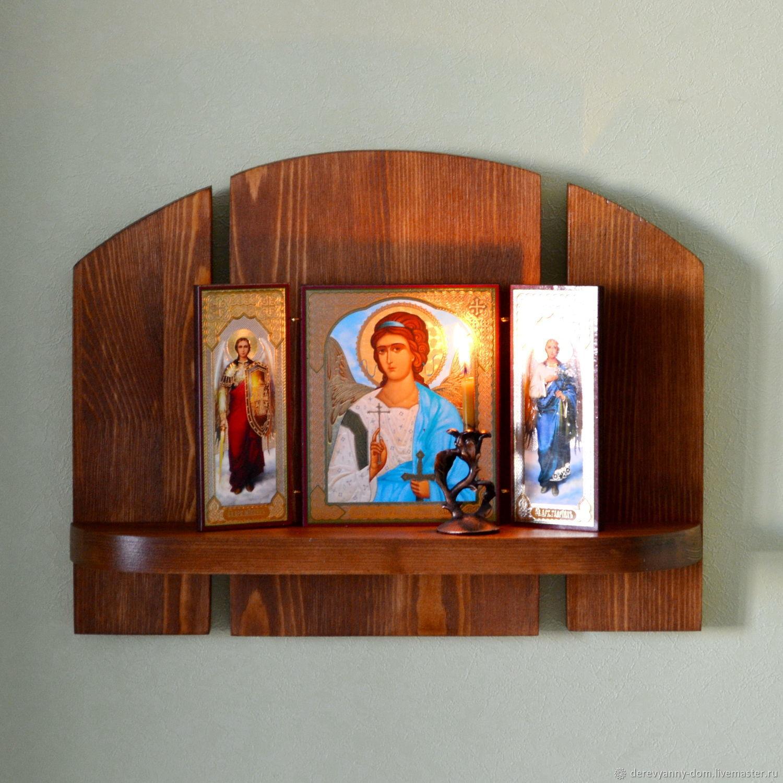 полки для икон настенные фото подкупает своей