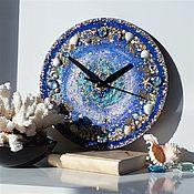 Для дома и интерьера handmade. Livemaster - original item NIGHT SEA Wall Clock. Handmade.