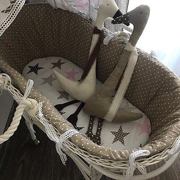 Куклы и игрушки ручной работы. Ярмарка Мастеров - ручная работа Гуси-Лебеди из белорусского льна. Handmade.