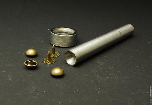 Шитье ручной работы. Ярмарка Мастеров - ручная работа. Купить Инструмент для установки Хольнитенов СФЕРА. Handmade. Серый, кнопки для одежды