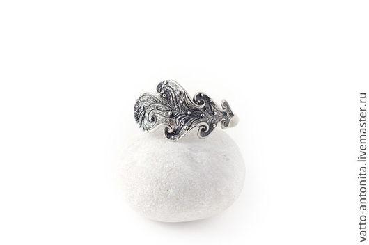 Кольца ручной работы. Ярмарка Мастеров - ручная работа. Купить кольцо из серебра Дубовый лист. Handmade. Кольцо из серебра