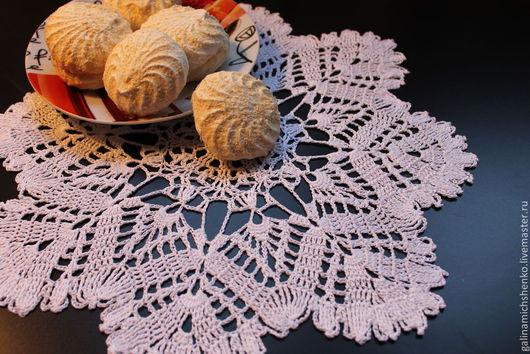 Текстиль, ковры ручной работы. Ярмарка Мастеров - ручная работа. Купить Салфетка № 156. Handmade. Белый, текстиль для интерьера