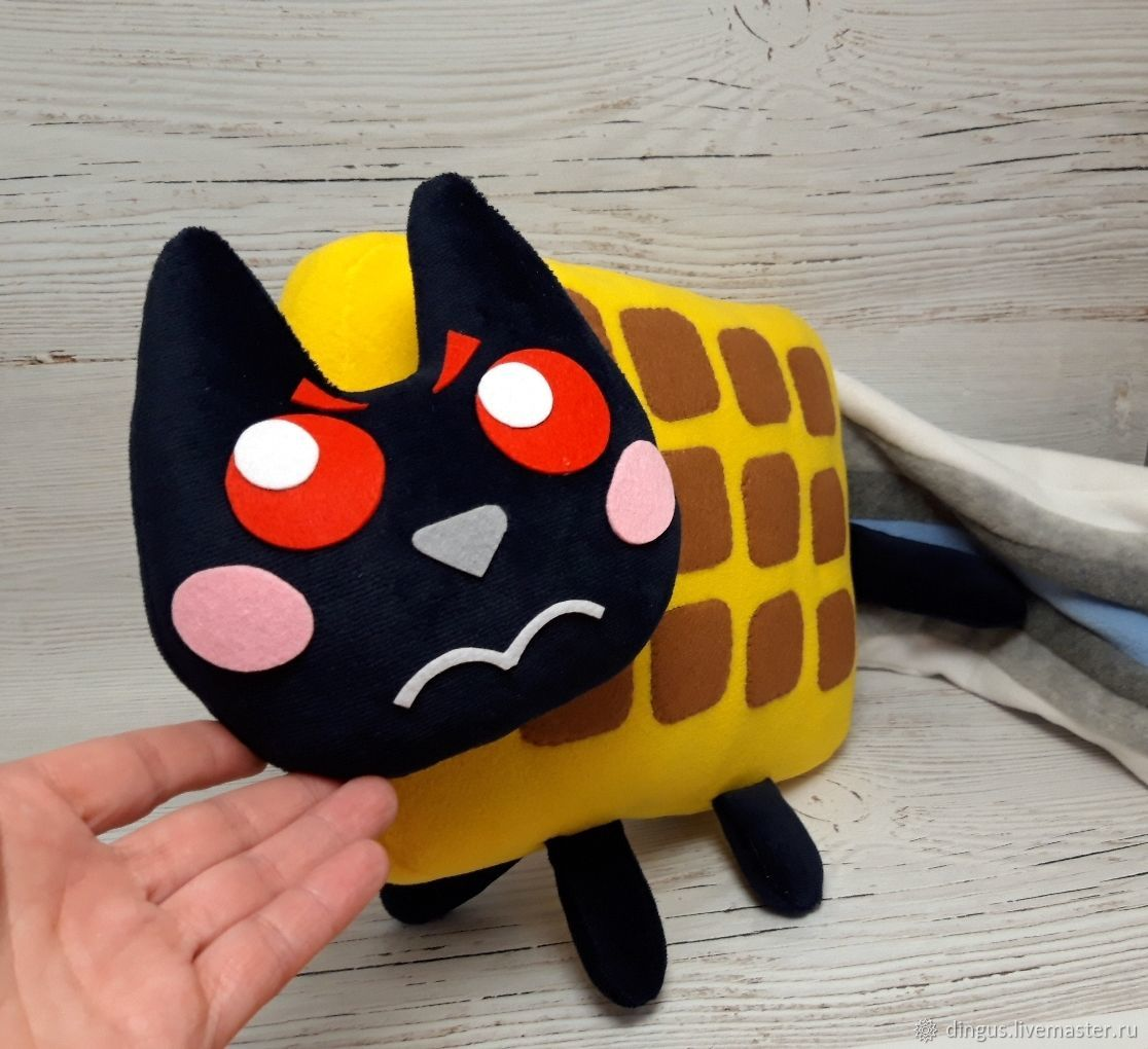 Tac nayn тэк нян, мягкая игрушка няшный кот Nyan Cat, Мягкие игрушки, Москва,  Фото №1