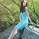 """Платья ручной работы. Вязаное платье """"Summer breeze"""". Egge. Вязаная одежда в стиле бохо. Ярмарка Мастеров. Короткое платье"""