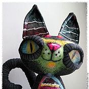 Куклы и игрушки ручной работы. Ярмарка Мастеров - ручная работа кот Амадео. Handmade.