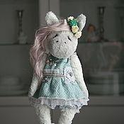 """Игрушки ручной работы. Ярмарка Мастеров - ручная работа Кукла Тедди """"Единорожка Розочка"""" кукла интерьерная. Handmade."""