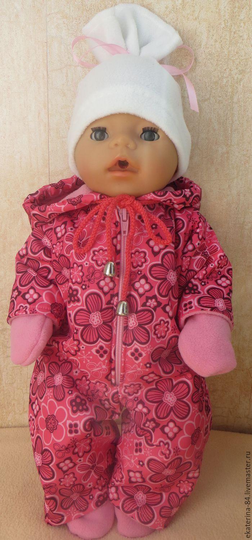 Как сшить комбинезон для кукол беби бон своими руками