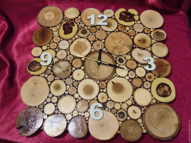Часы из дерева сделать 87