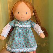 Куклы и игрушки handmade. Livemaster - original item Red Sun - Waldorf doll. Handmade.