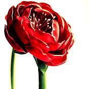 """Украшения ручной работы. Ярмарка Мастеров - ручная работа Ободок """"Цветок страсти"""". Handmade."""