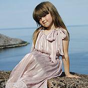 Работы для детей, ручной работы. Ярмарка Мастеров - ручная работа Нарядное платье для девочки в стиле Великого Гетсби. Handmade.