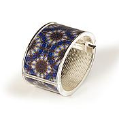 Украшения handmade. Livemaster - original item Blue accessory to an evening bangle