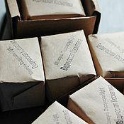 """Шампуни ручной работы. Ярмарка Мастеров - ручная работа Твердый шампунь """"Водоросли"""" для тонких/жирных у корней. Handmade."""