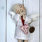 Куклы и игрушки handmade. Livemaster - original item The guardian angel. Handmade.